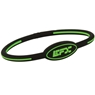 EFX Silicone Oval Wristband- Black/Green