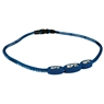 EFX Nylon Corded Necklace- Blue/White