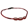 EFX Nylon Corded Necklace- Red/White