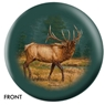 Elk Bowling Ball- By Lee Kronschroeder