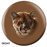 Mountain Lion Bowling Ball- By Lee Kronschroeder