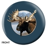 Moose Bowling Ball- By Michael Steve
