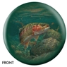 Rainbow Trout Bowling Ball- By Mark Susinno