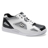 Dexter Mens Jason IV Bowling Shoes- White/Gray/Black