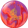 16LB Ebonite Cyclone Bowling Ball- Orange/Purple/Red