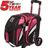 KR Cruiser Single Roller Bowling Bag- Pink/White/Black
