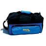 Double Zipper Soft Pack Bowling Bag- Blue/Black