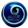 Comet Rubber Candlepin Bowling Ball- Royal/Blue/White