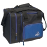 BSI Deluxe Single Ball Bowling Bag- Black/Blue