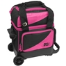 BSI Prestige Single Roller Bowling Bag- Pink/Black