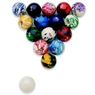 EPCO Marbleized Regulation Billiard/Pool Ball Set