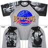 Bowling Fanatic T-Shirt with Bowling Sleeve Design