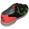 Linds Mens Flame Glow Rental Bowling Shoes- Velcro
