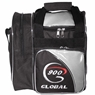 900 Global Fresh 1 Ball Tote Bowling Bag- Silver/Black