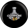 Chicago Blackhawks 2013 NHL Champs Bowling Ball- Black