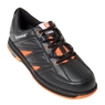 Brunswick Mens Warrior Bowling Shoes- Black/Orange