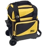 BSI Prestige Single Roller Bowling Bag- Yellow/Black