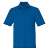Ash City Mens Stride Jacquard Polo
