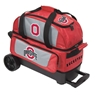The Ohio State University 2 Ball Roller Bowling Bag