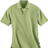 Ash City Mens Needle Out Interlock Polo