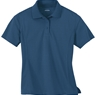 Ash City Ladies Eperformance Jacquard Pique Polo Shirt