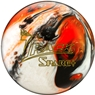 Track Spare Bowling Ball- Black/Orange/White Diamond