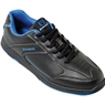 Brunswick Mens Flyer Bowling Shoes- Black/Blue