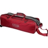Storm Tournament 3 Ball Tote Roller Bowling Bag- No Pockets- Red
