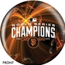 San Francisco Giants 2014 World Series Champs Bowling Ball