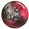 900 Global Pow Bowling Ball- Pink/Black/Silver