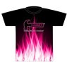 Hammer Bowling Pink Flame Dye-Sublimated Jersey