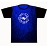 Motiv Bowling Blue/Black Dye-Sublimated Jersey