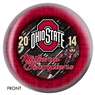 The Ohio State University 2014 National Championship Bowling Ball