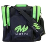 MOTIV Single Bowling Bag- Black/Green