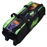 MOTIV Clear View Triple Tote Roller Bowling Bag- Black/Green