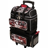 Roto Grip 4 Ball Roller Bowling Bag- Black/Camo Red