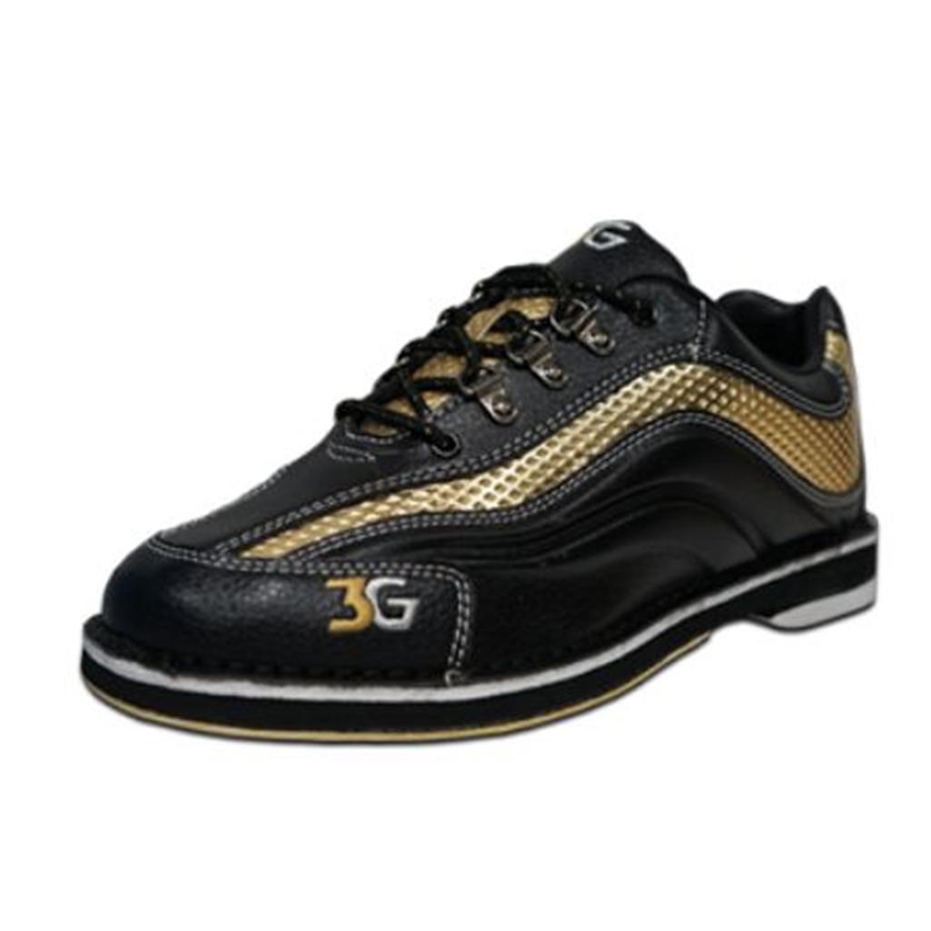 3G Mens Sport Ultra Bowling Shoes- Black/Gold