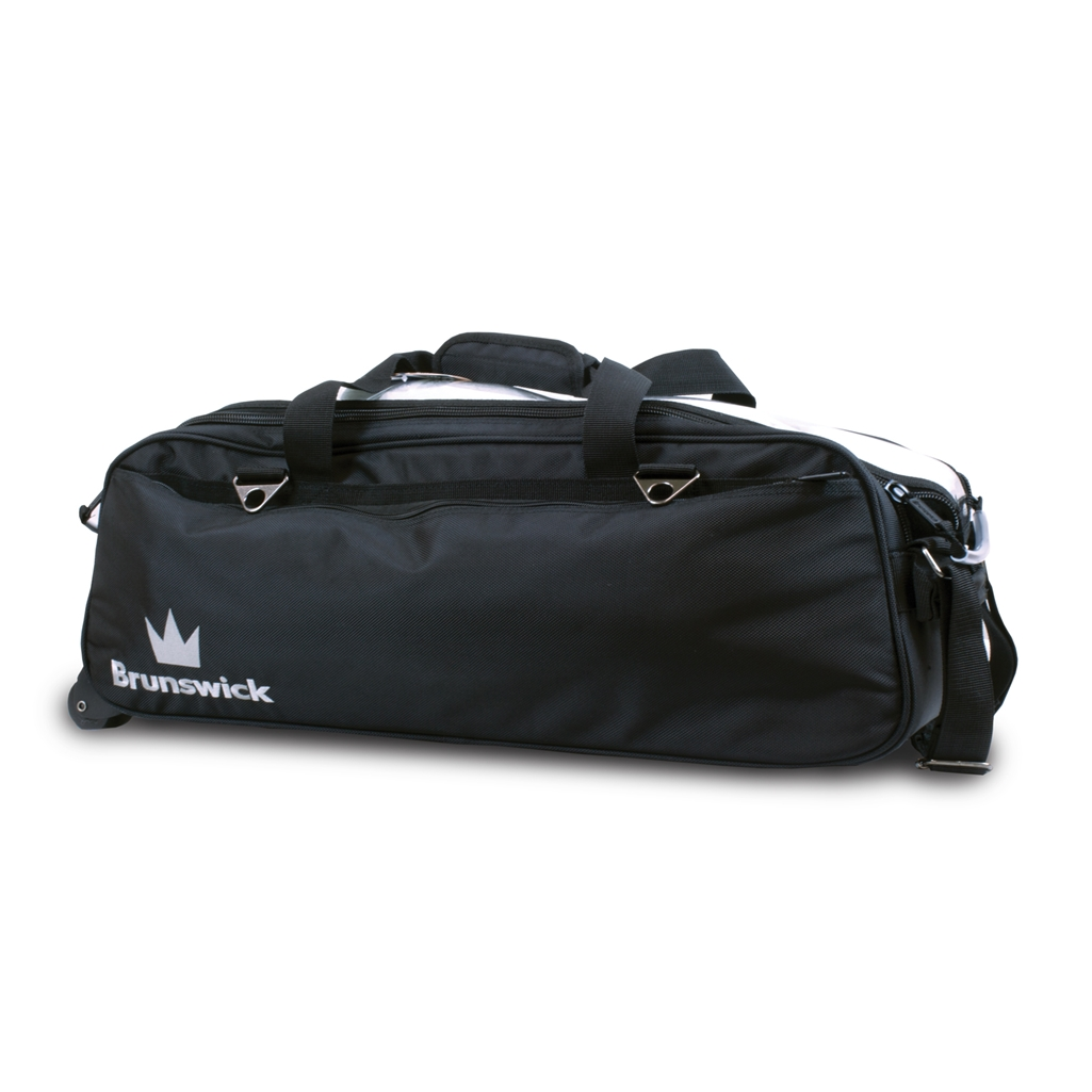 Brunswick Crown Triple Tote Bowling Bag - Many Colors Available