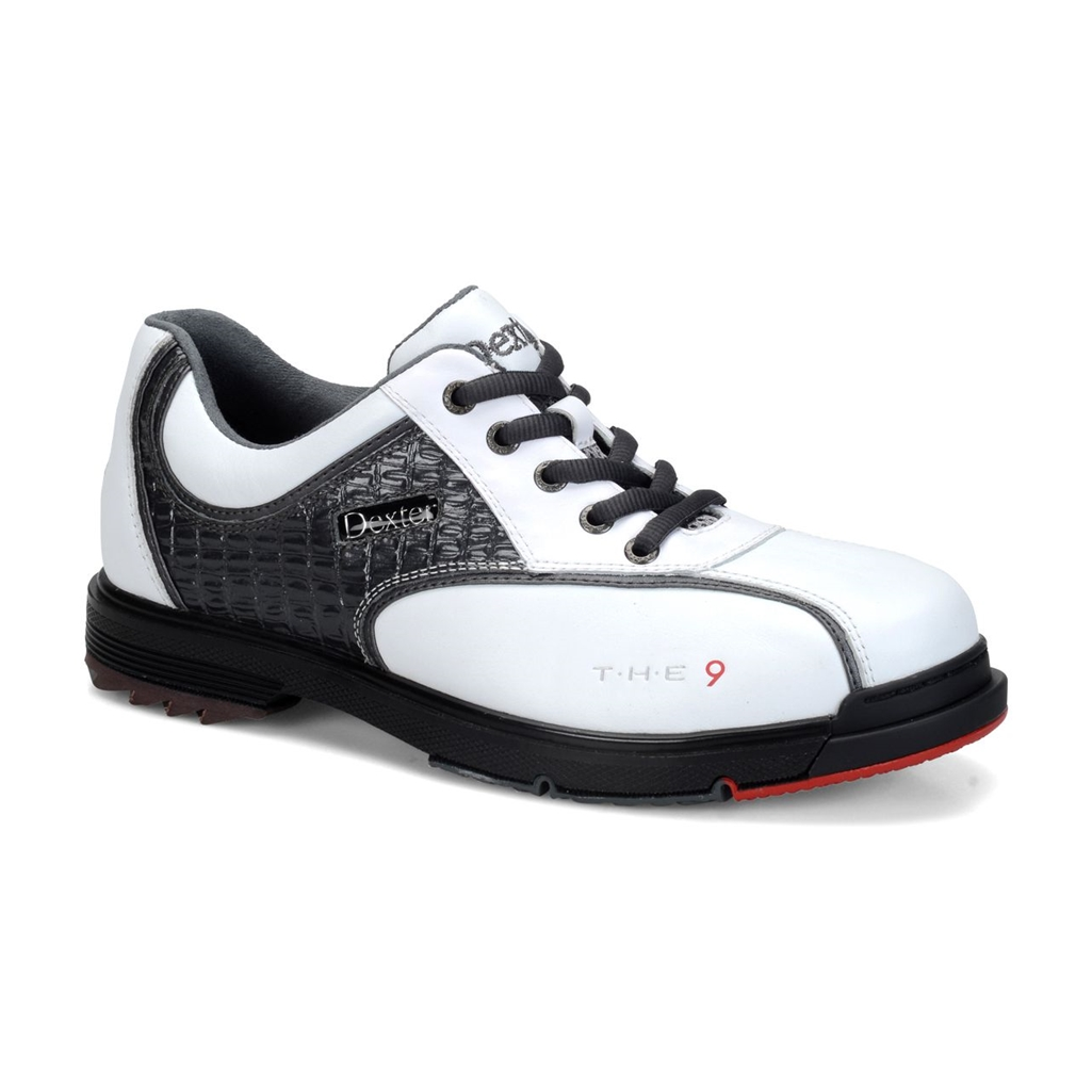 Dexter Mens SST The 9 Bowling Shoes - White/Grey | Free Shipping ...