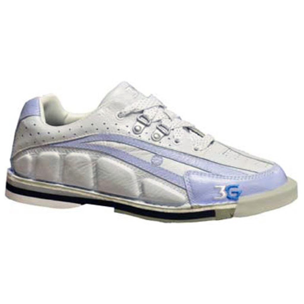 3G Ladies Tour Ultra Bowling Shoes Left Hand- Periwinkle/Ivory