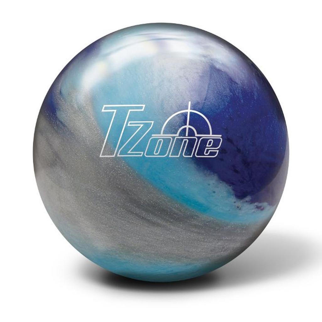 Brunswick T-Zone Glow Bowling Ball- Arctic Blast