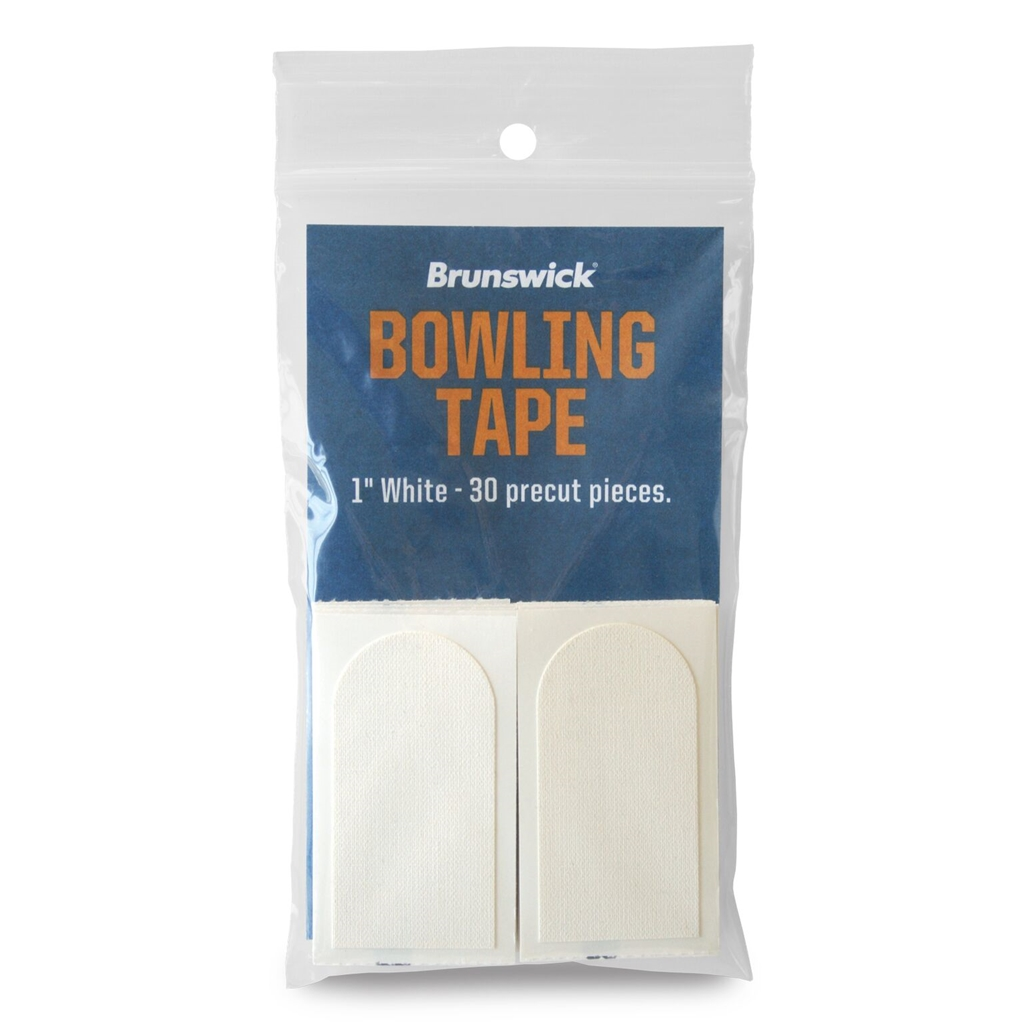 "Brunswick 1"" White tape 30 Piece Pack - Each"