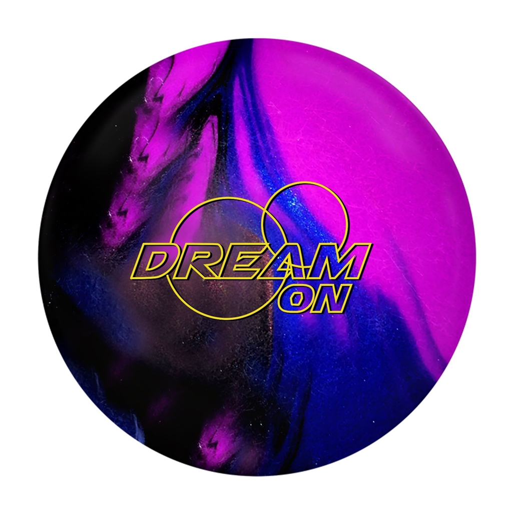 900 Global Dream On Bowling Ball- Blue/Purple/Black