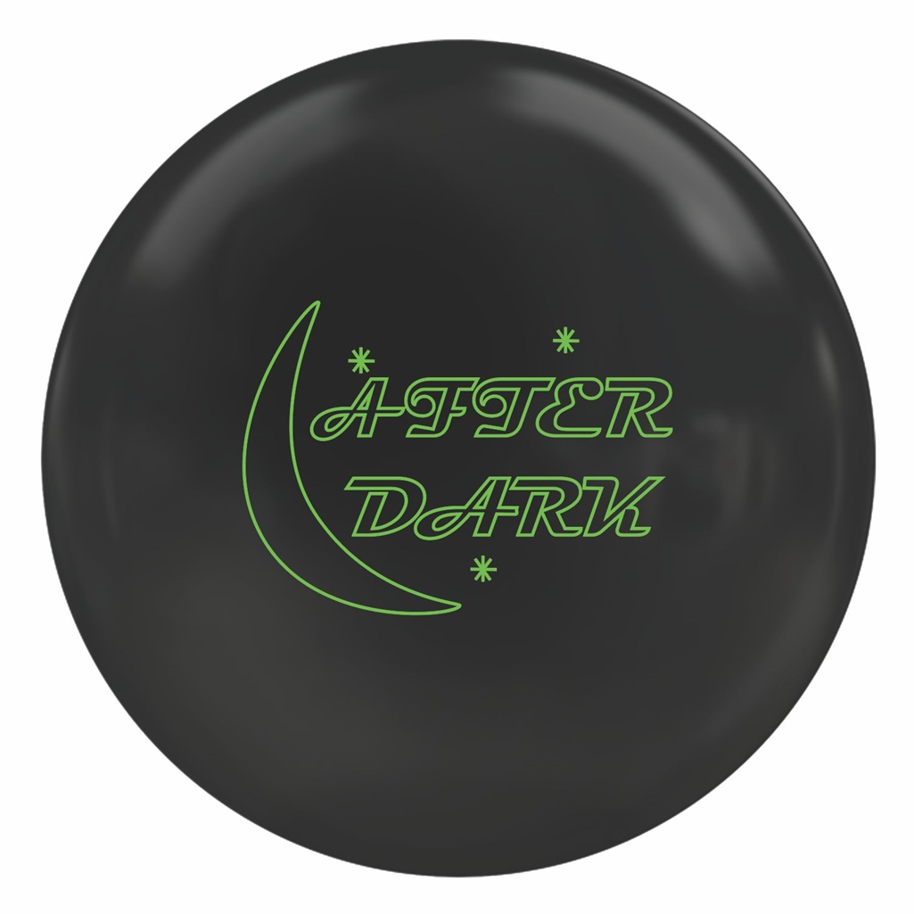 900 Global After Dark Solid Bowling Ball- Black