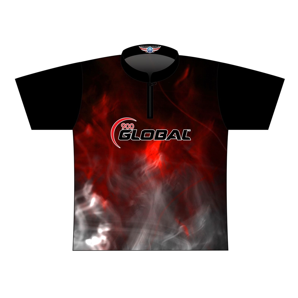 900 Global Dye-Sublimated Jersey - Red/Black/Gray