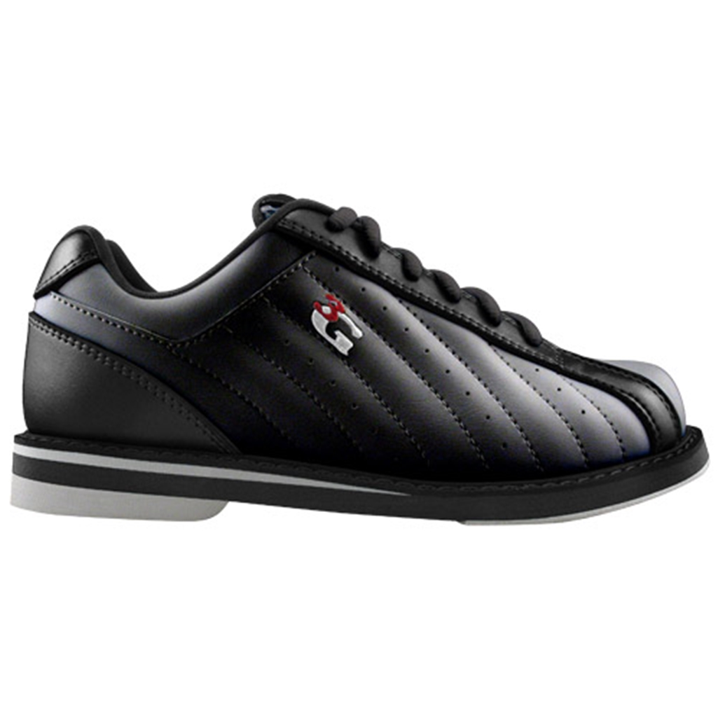 3G Mens Tour Ultra Black Bowling Shoes- Left Hand