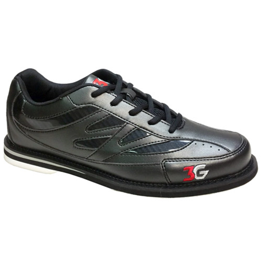 3G Mens Cruze Unisex Bowling Shoes- Black/Black