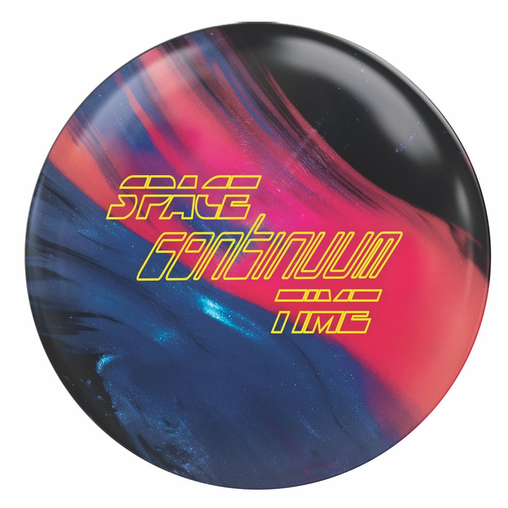 900 Global Space Time Continuum Bowling Ball- Blue/Black/Pink Pearl