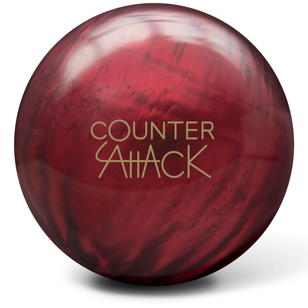 Radical Counter Attack Solid Bowling Ball- Purple Solid