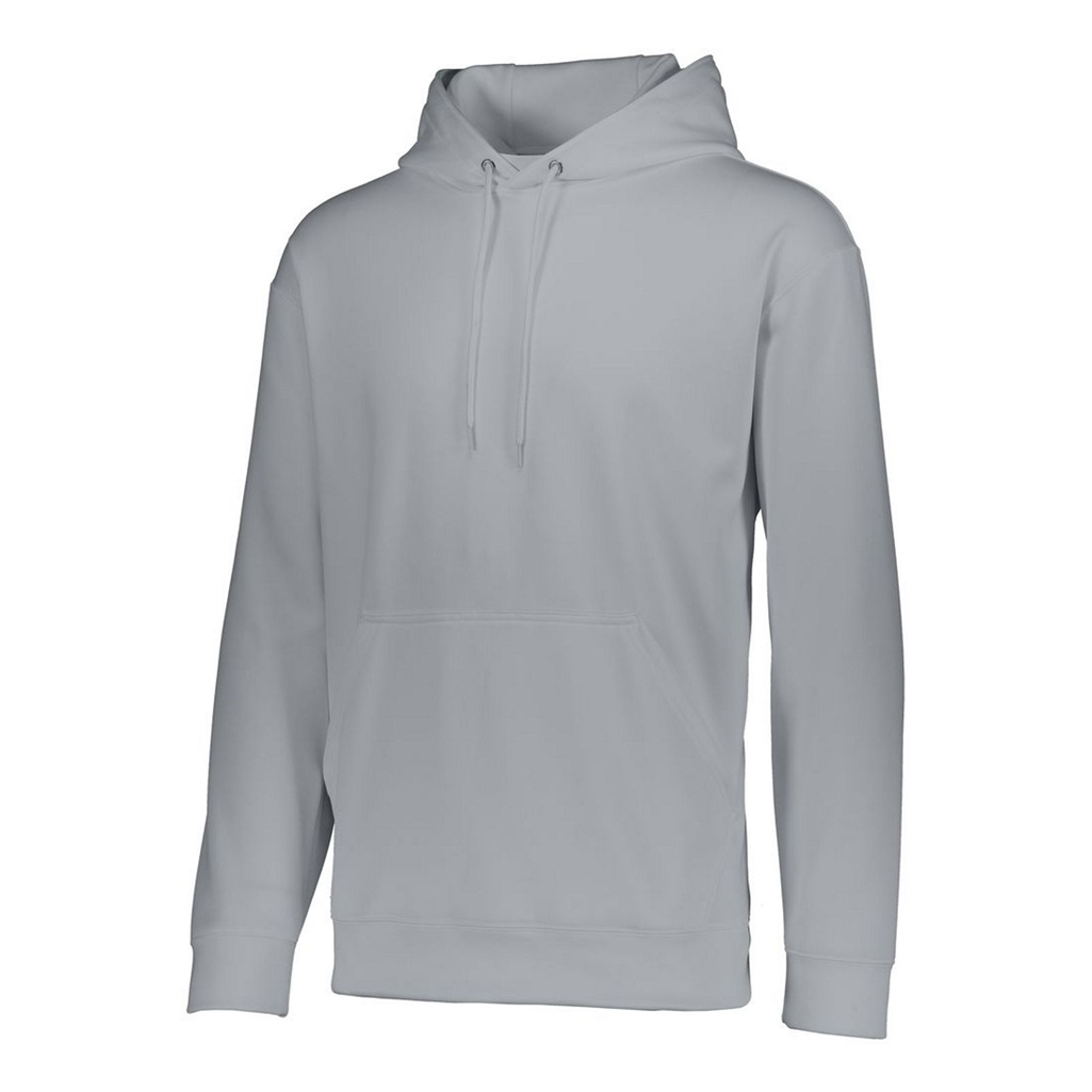 White Augusta Sports Wicking Fleece Hooded Sweatshirt XXXXX Large